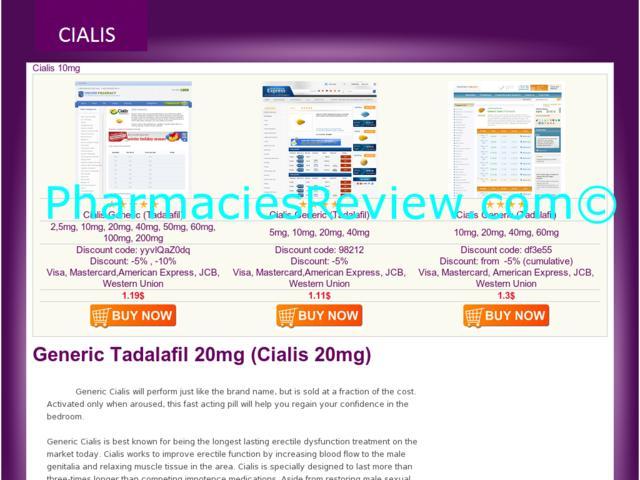 Generic Cialis Web Site