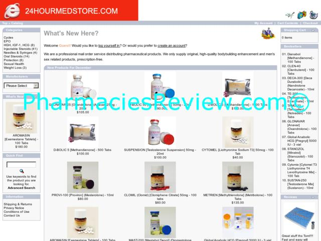 24hourmedstore.com review