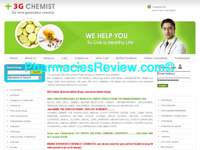 3gchemist.com review