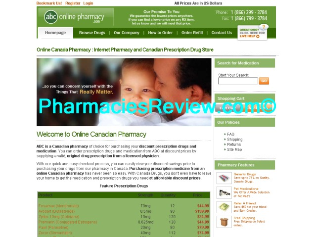 abconlinepharmacy.com review