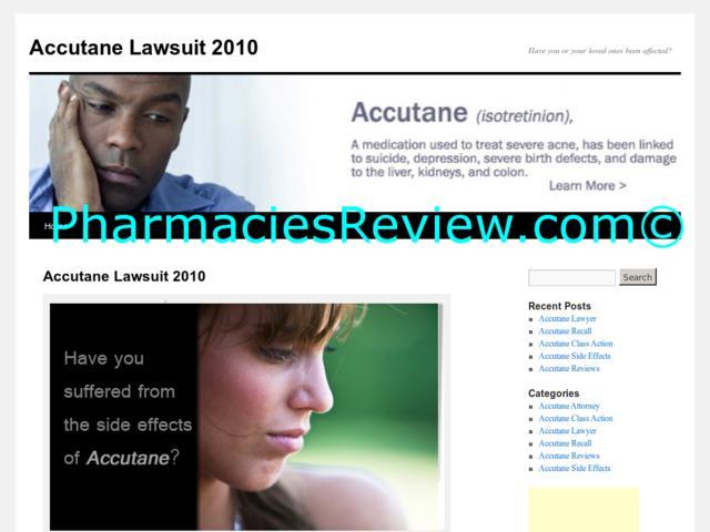 Accutane Atlanta Lawsuit