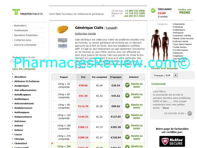 achat cialis generique en ligne