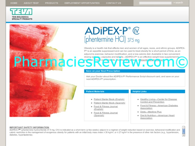 Adipex p phentermine reviews