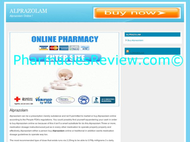 alprazolam online pharmacy review classes