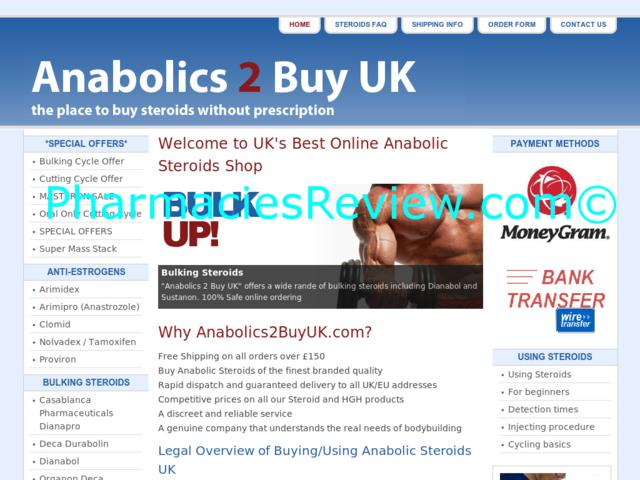 Anabolics2buyuk.com Review All Online Pharmacies Reviews And Ratings Online Pharmacies