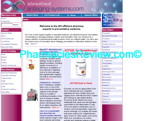 antiaging-systems.com review