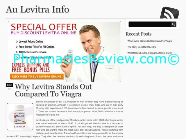 Levitra Information