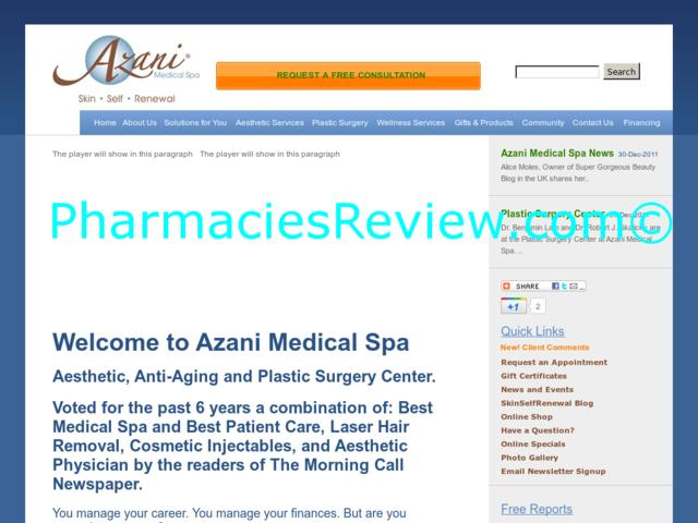 Azani Medical Spa Reviews