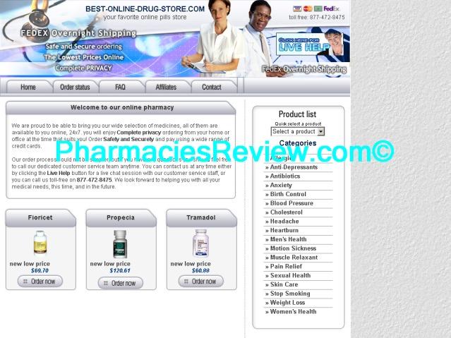 Online pharma shop review