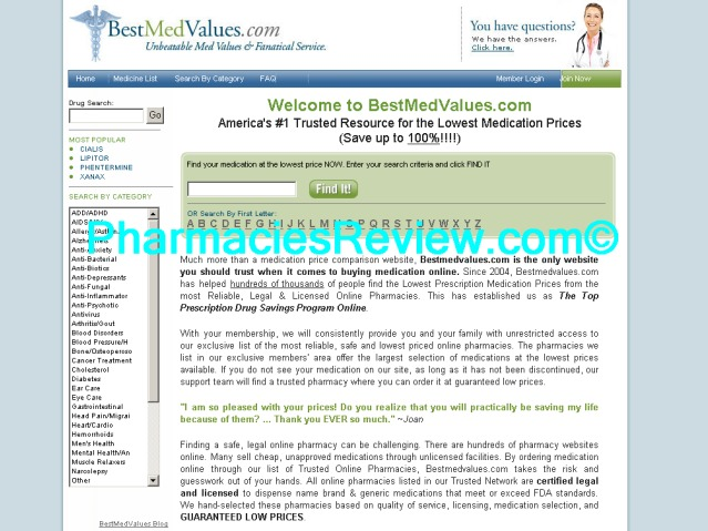 bestmedvalues.com review