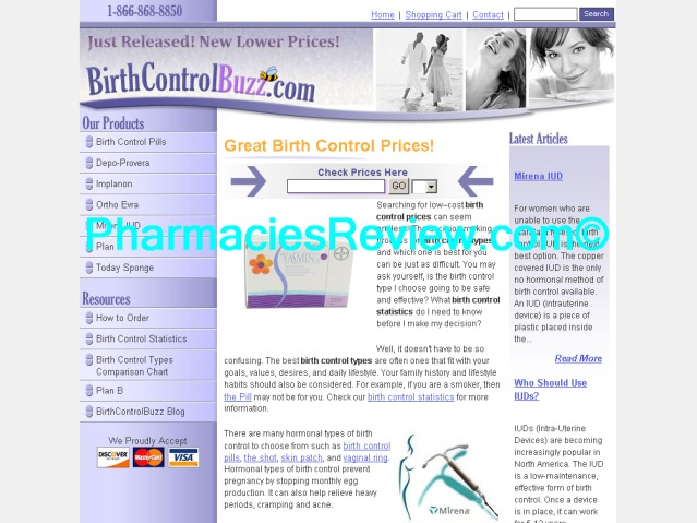 birthcontrolbuzz.com review