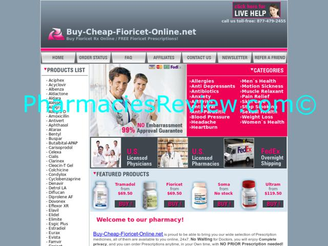 buy fioricet without doctor prescription