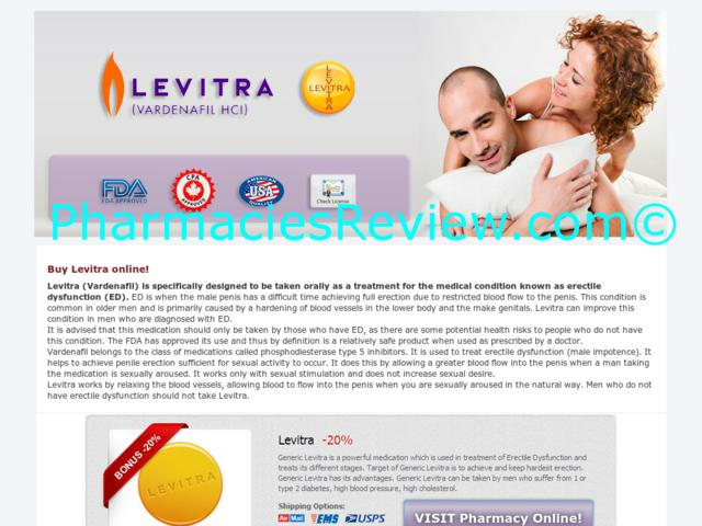 Buy Levitra On Sale Online