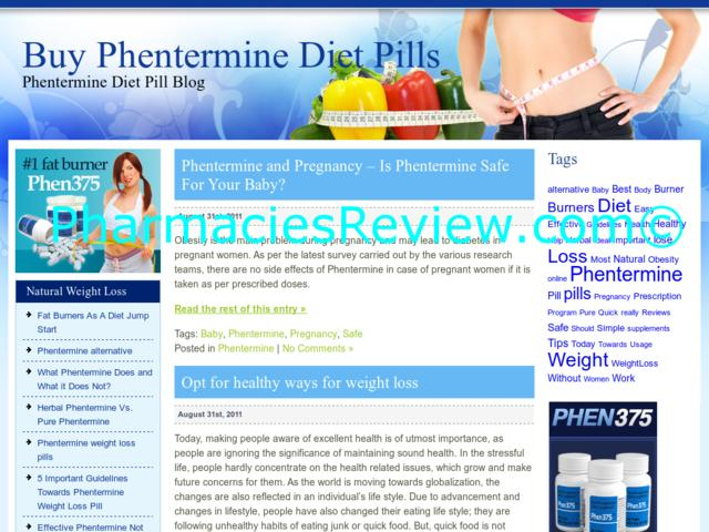 phentermine diet pills clinic