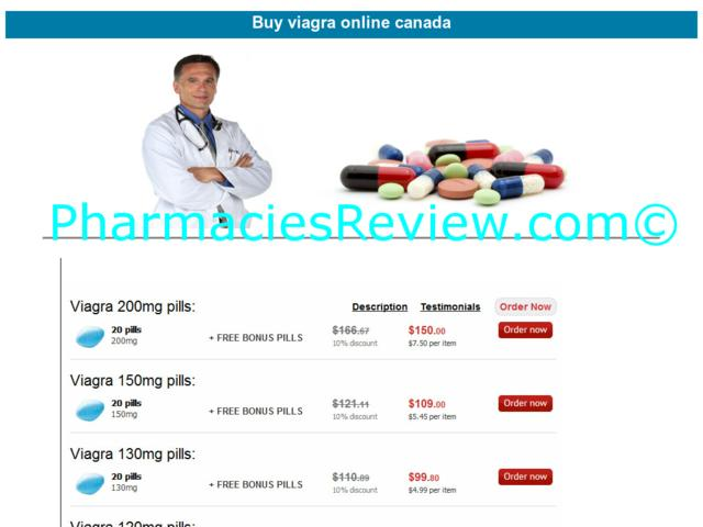 Canadian Prices For Viagra