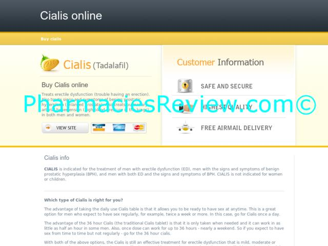 Buy Cialis Mail Online