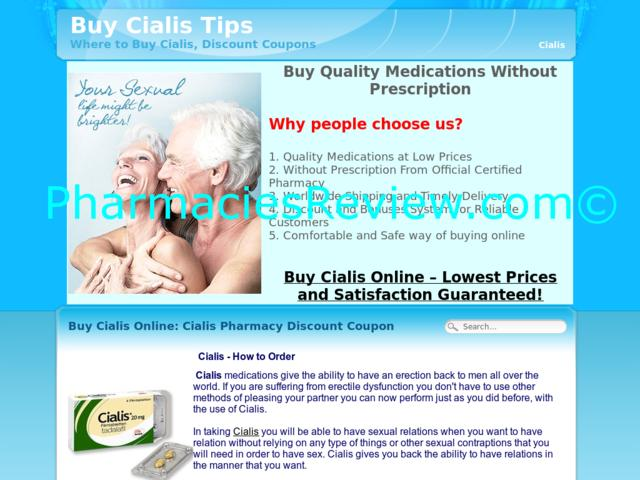 Cialis On-Line Medication