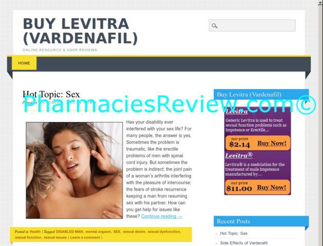 Buy Levitra Site