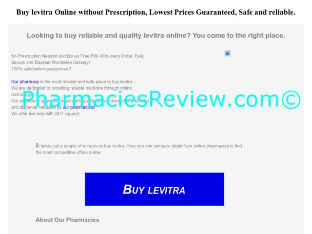 Levitra Without A Prescription