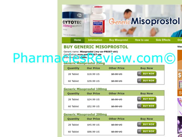 Online Pharmacy Cytotec Israel
