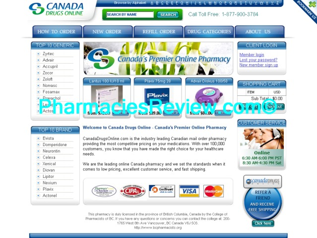 are canadian pharmacy drugs safe