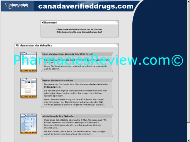 canadaverifieddrugs.com review
