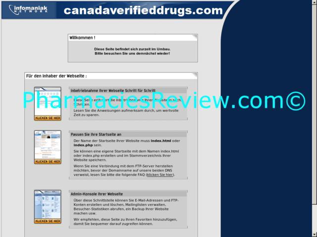 canadaverifieddrugs.com review