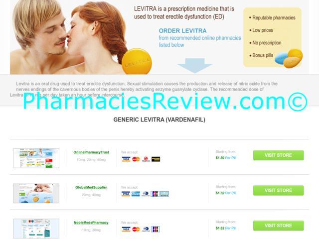 Order Levitra Online