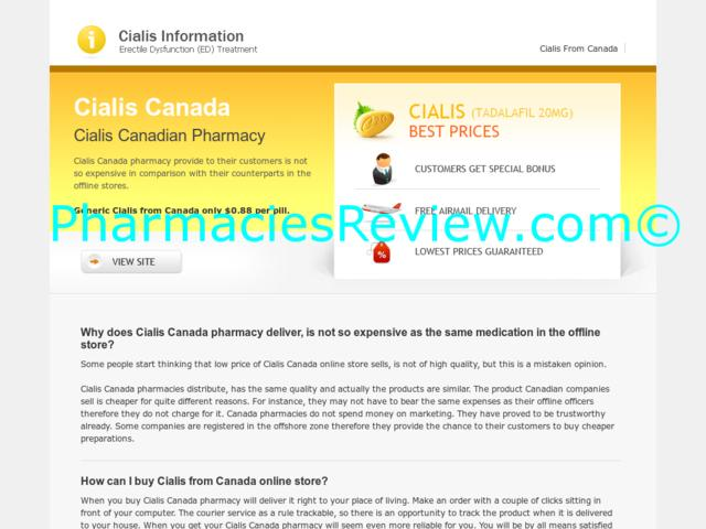 Buy Cialis Online Canada