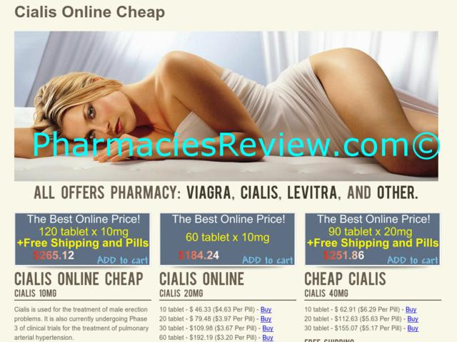 Cheap Discount Cialis Pharmacy Online