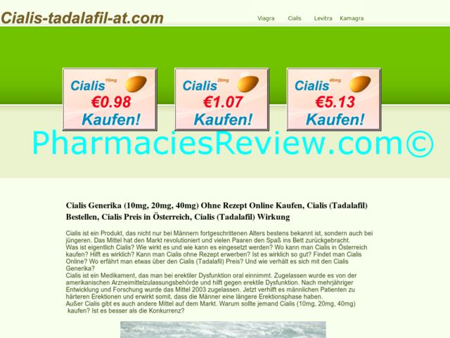 Cialis And Online Pharmacy