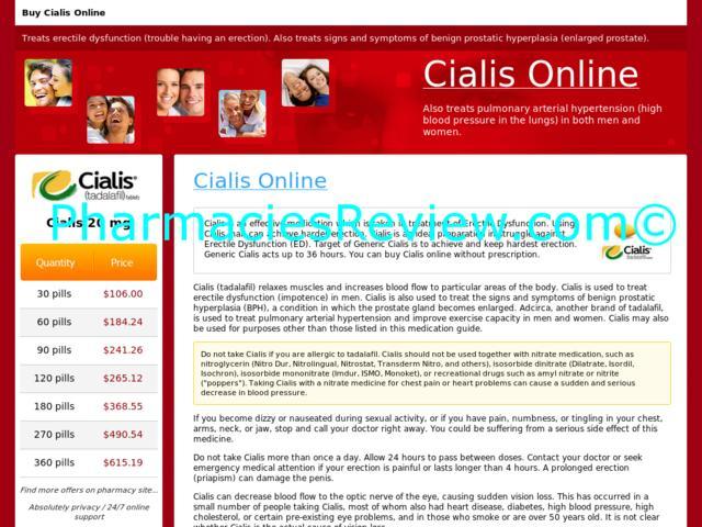 Cialis Online No Prescription