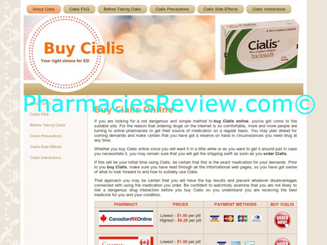 Buy Cialis Ours Pharmacy Com