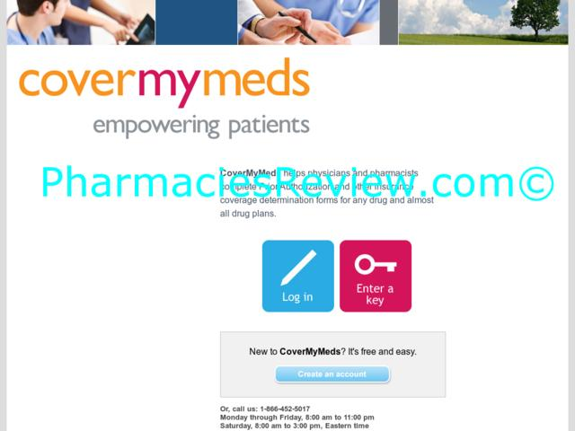 Covermymeds log in