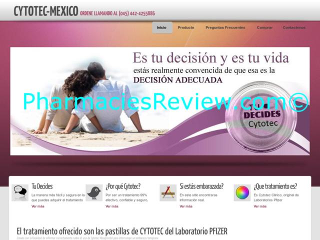 Cytotec Mexican Pharmacy Online