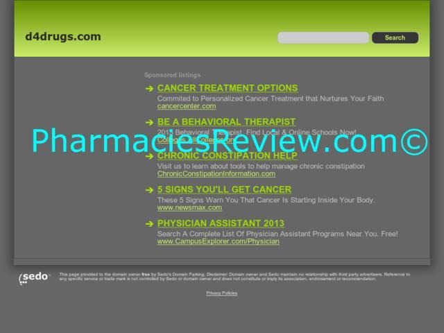 d4drugs.com review