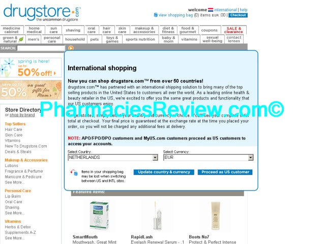 drugstore.com review