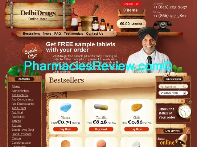 RX Indian Generics review