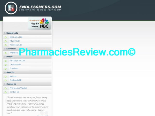endlessmeds.com review