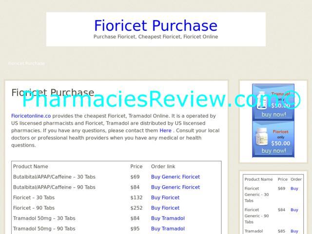 fioricet schedule iii