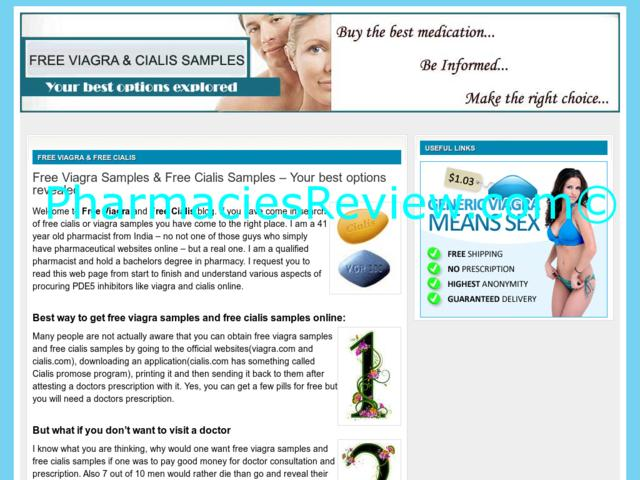 Free Viagra Trial Sample