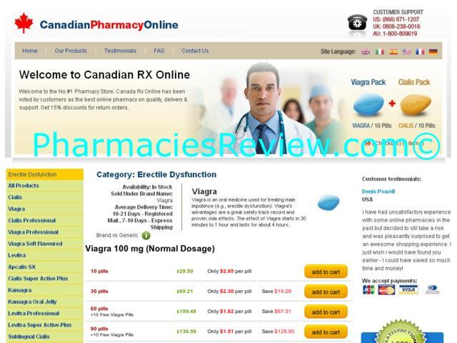 On Line Pharmacy For Viagra