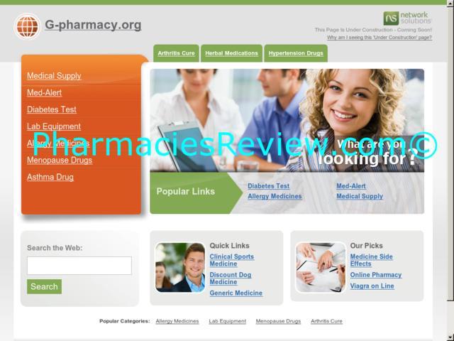 g-pharmacy.org review