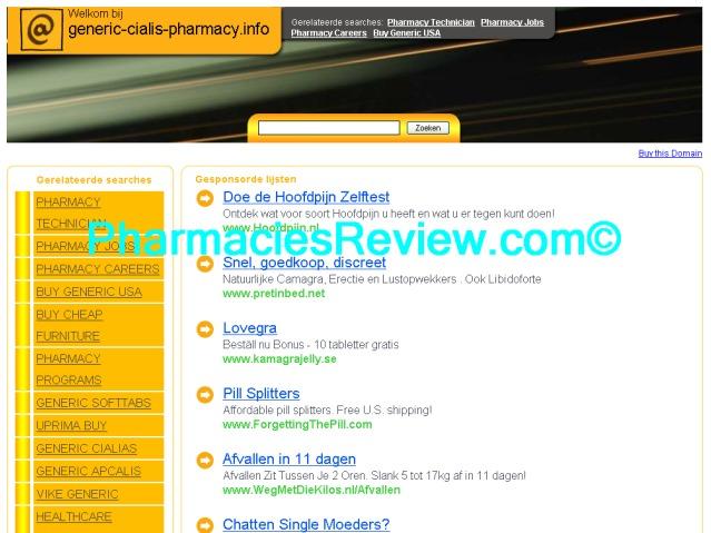 Generic Cialis Online Pharmacy