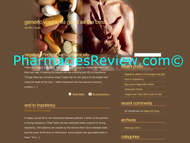 Generic Viagra Online Drugstores