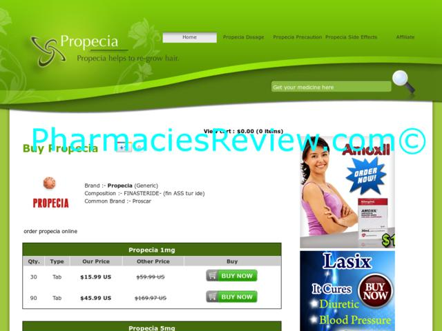 6Generic Propecia Review