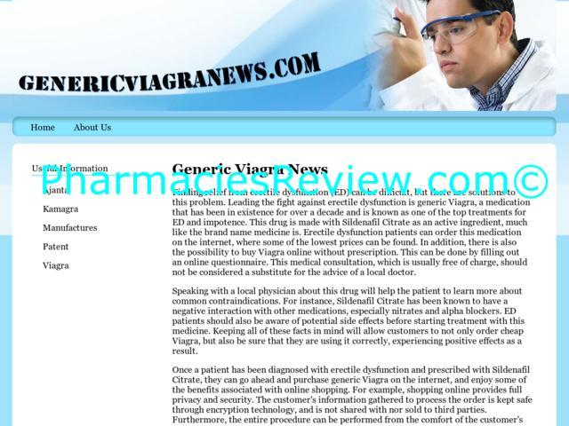 Generic Viagra Online Consultation