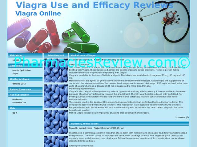 Viagra Effecacy