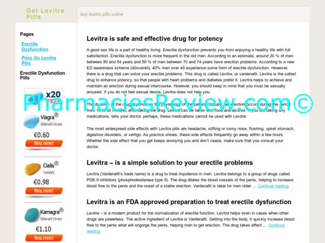 The Drug Levitra