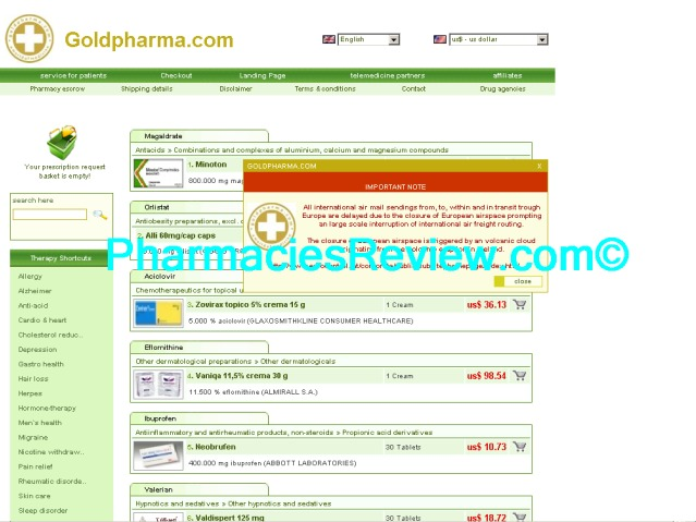 goldpharma.com review